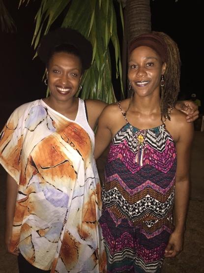 Avec la slameuse Mapie Émotion de la Martinique