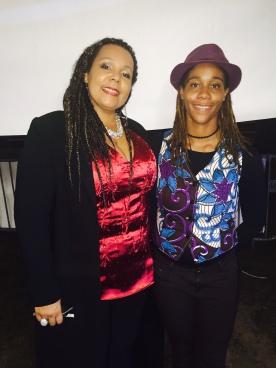 Avec la chanteuse Gilda Rey